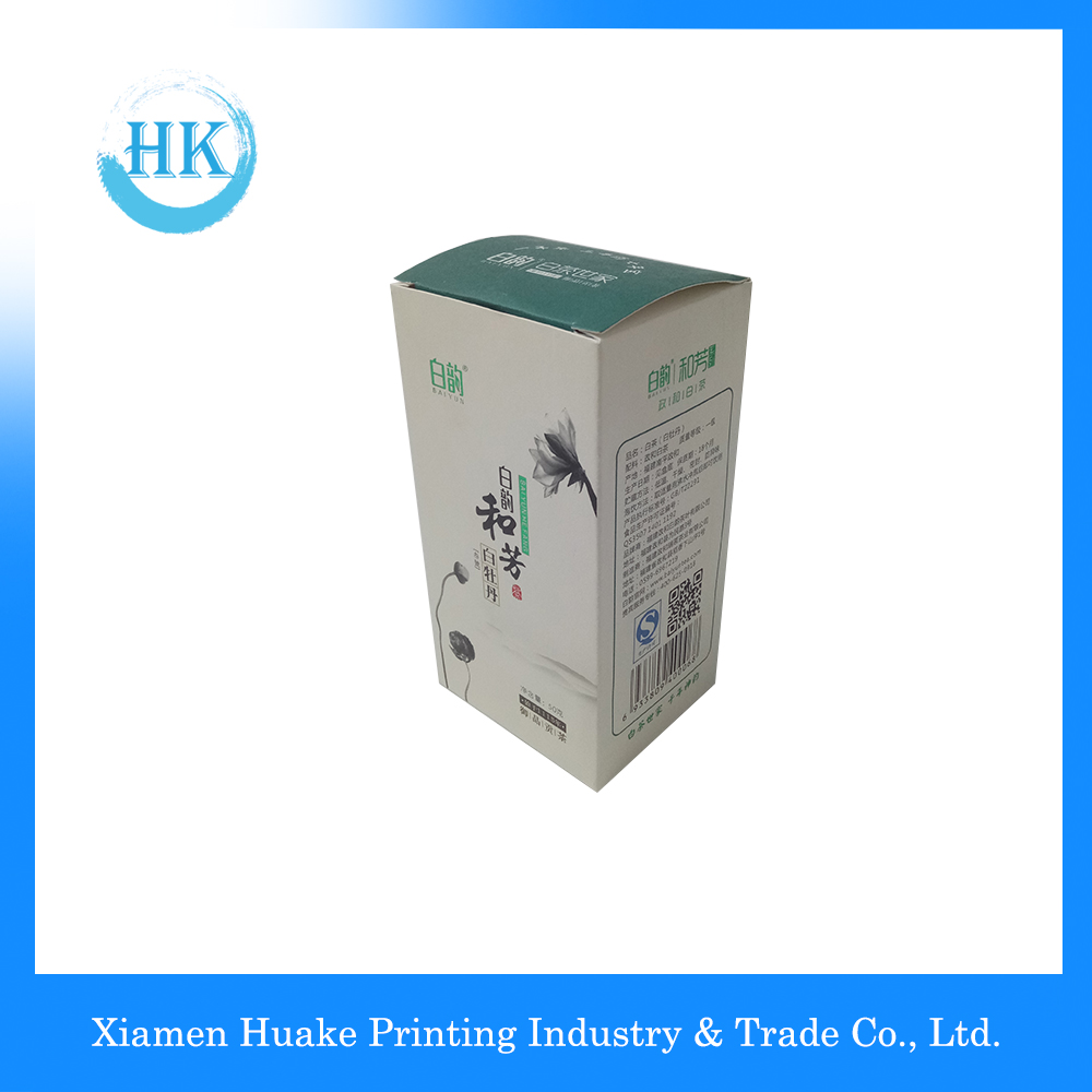 Kraft Paper Square Tea Gift Packing Box